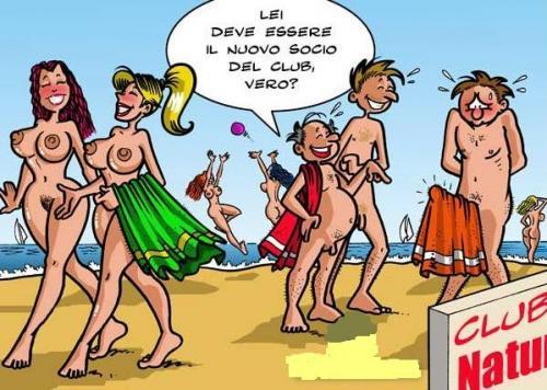 erezione del nudismo