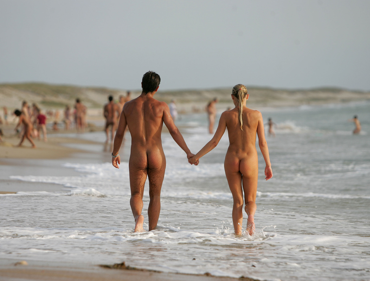 Irish Naturists Getting Kit Off During Heatwave Weather With Nude Meet