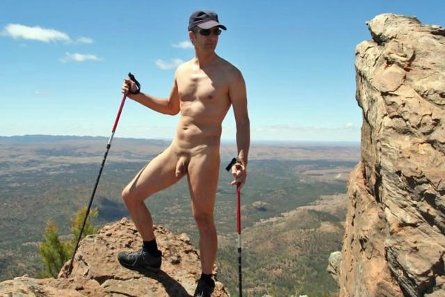 Nudo sulle montagne