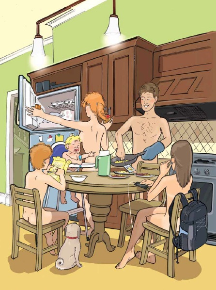 Nudist Cartoons