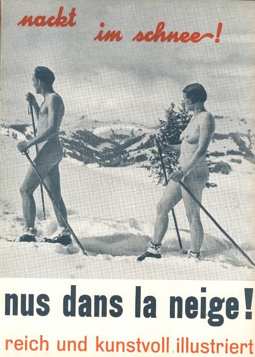 Nudi sulla neve