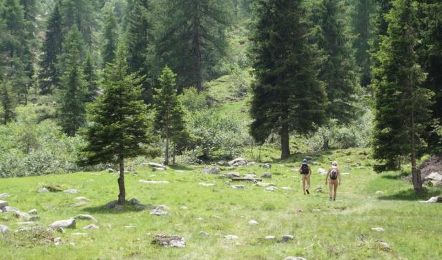 Nudi in montagna