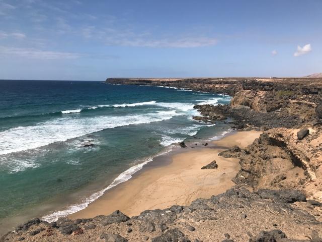 Spiaggia a Fuerteventura